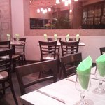 "La salle du restaurant ""Chez Bedros"""