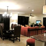 View of Presidential Suite from kitchen/bar