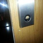 bust door lock