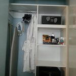 Closet-has robes, safe and mini bar