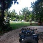 Just before ATV ride