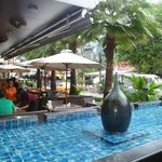 Monsoon Restaurant - great place to relax and watch the world go by!