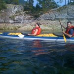 Sea Kayaking in Sechelt Inlet