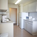 Kitchen at one and two bedroom apartment