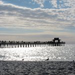 The Naples Pier just a short 10 minute walk from the hotel