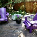 Wildberry Cottage sitting areas