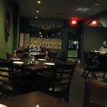 Royal Indian Restaurant dining room, Feb 2013
