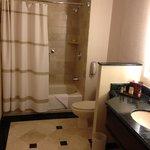 amplio baño