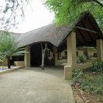 Entrance to Shiduli Lodge