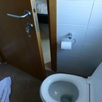 very little space in bathroom
