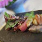 Cured Wild Boar Ham, Pate', Winter Greens