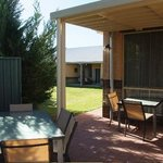 Lilier Lodge BBQ Outdoor Dining Area