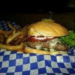 yummy! Buddy Holly Burger & Handout fries