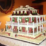 Gingerbread Mansion Replica