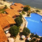 pool & villas