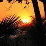 Coucher de soleil sur les plages du Nicaragua