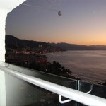 Twilight View of Puerta Vallarta from Balcony