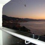 Twilight View of Puerta Vallarta from Balcony