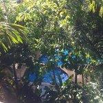 utsikten från våran balkong