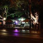 At night: very nice atmosphere