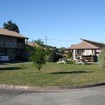 Centre of Motel area
