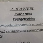 Stukje van menu (met fout)