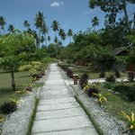 Pathway to Bungalows