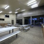 Ashmore Palms barbecue area