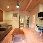 Lorikeet Lodge living area