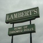Lambert Sign