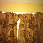 Awful cheap and badly fitting curtains