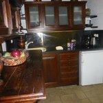 Kitchenette in Emerald Room