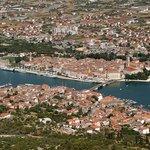 Panoramic view of Trogir