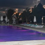 piscine espace 5 de nuit