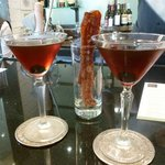 Manhattan at Hotel Bar w/ Candied Bacon