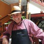 Don Colon in his restaurant