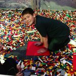 """""""Lego heaven"""" at Space Center"""