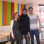 With Mardi and Dan