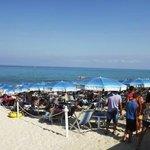 spiaggia senza pedana