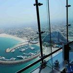 vista desde el restaurante del Burj Al Arab