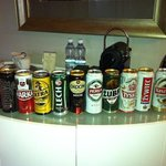 beers in mini bar 50zl