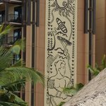 Typical Disney Detail on Building Exterior Brings Local Flavor