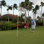 Ko Olina Golf Course is a Short 10 Minute Walk Away