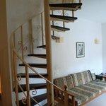 escalier acces chambre