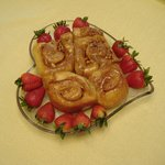 Home made caramel rolls -big favorite