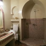 Room bathroom at Riad ILayka