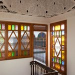 Detailed Moroccan Stained Glass