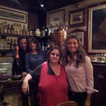 Me and family with owner, Fabrizia