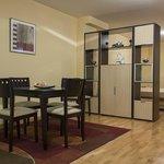 Salón Apartamento estudio 4pax