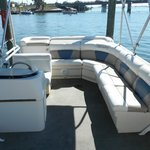 Bentley Cruising Pontoon wrap around seating